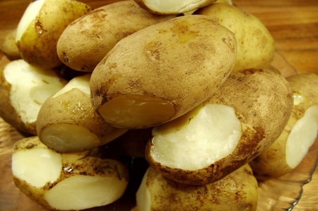 Boiled Russet Potatoes