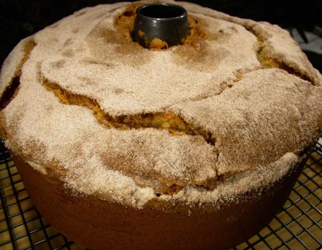 Coffee Cake in Pan