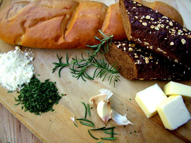 Rosemary Croutons Ingredients