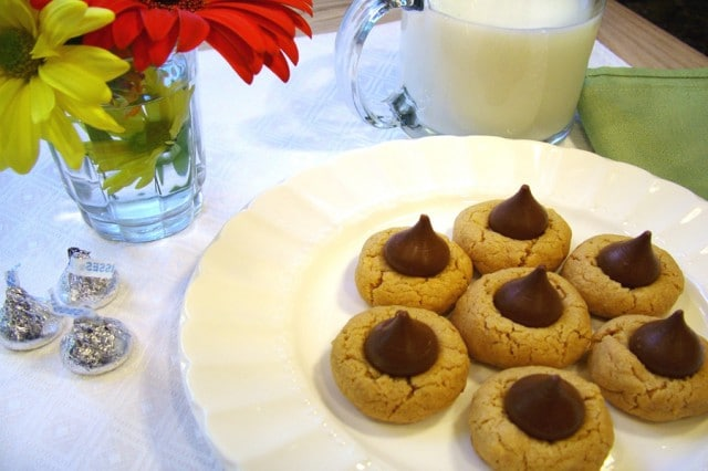 Peanut Butter Cookies on Plate