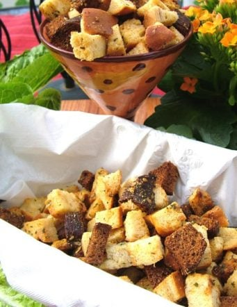 Rosemary Multi-Colored Croutons
