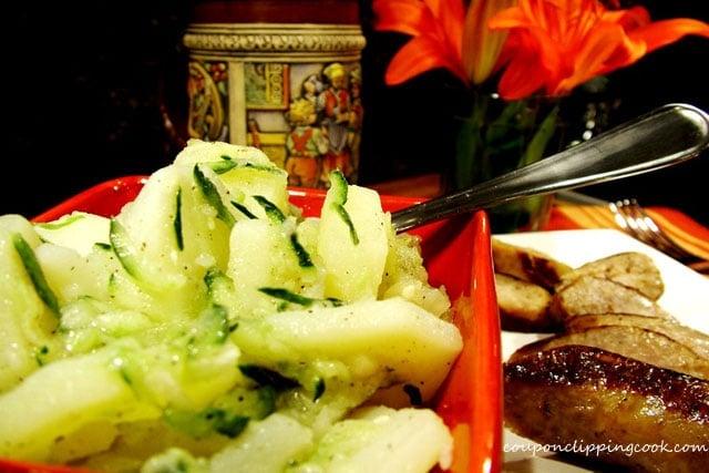 German Potato Salad in bowl