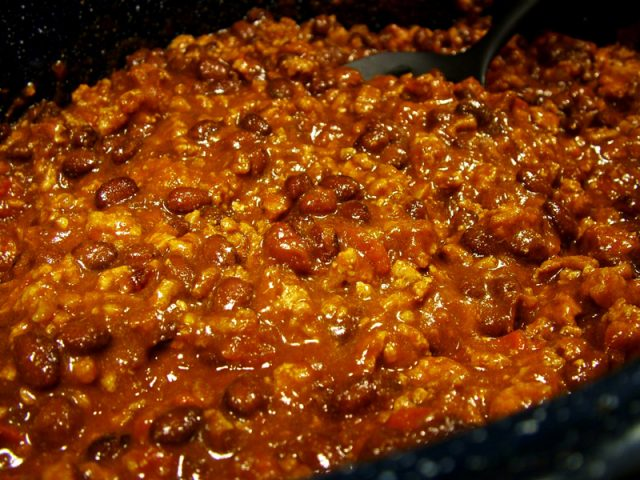 Chili in Pan
