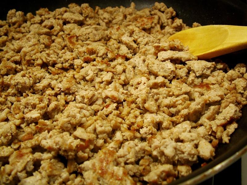 Cooked ground turkey - photo#16