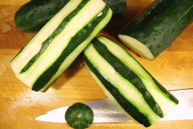 German Potato Salad with Cucumber