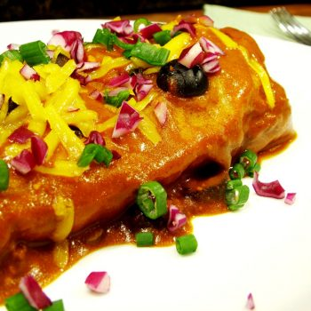 Enchilada Burrito, Wet Burrito