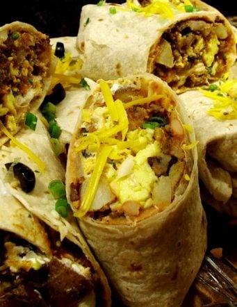 Hearty Breakfast Burritos