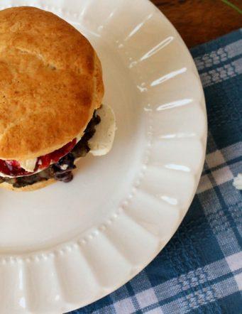 Sage Sausage Breakfast Biscuit Sandwich