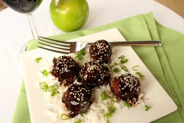 Meatballs with Apple