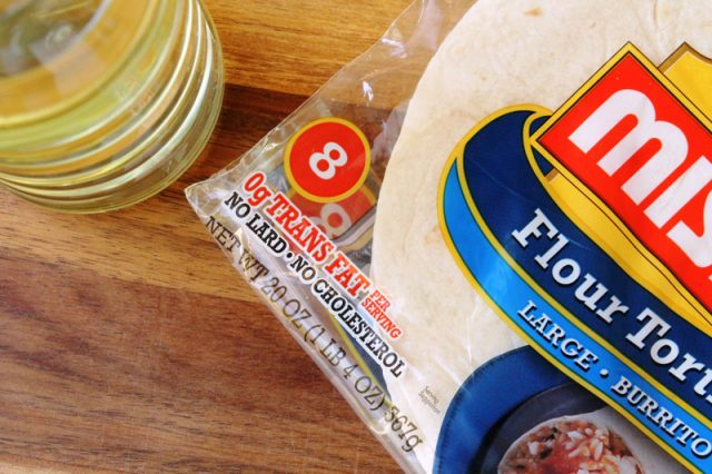 Flour Tortillas and Oil