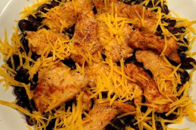 Cheese on Chicken