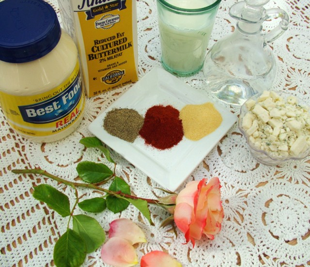Blue Cheese Salad Dressing Ingredients