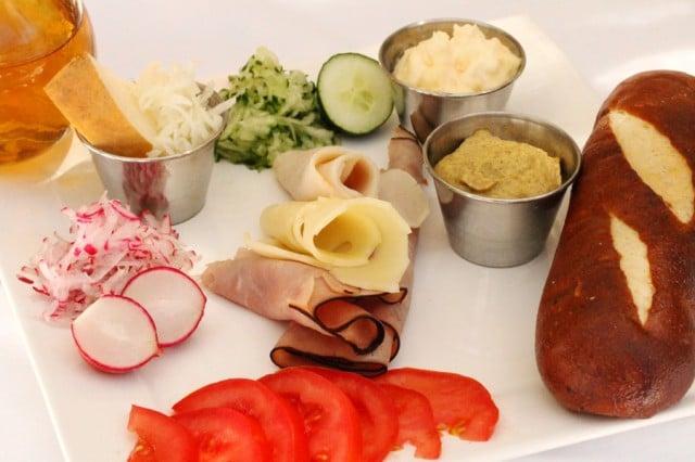Ham and Turkey Sandwich Ingredients