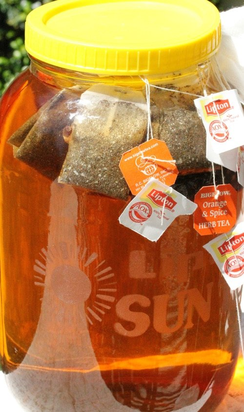 Sun Tea Recipes — Dishmaps