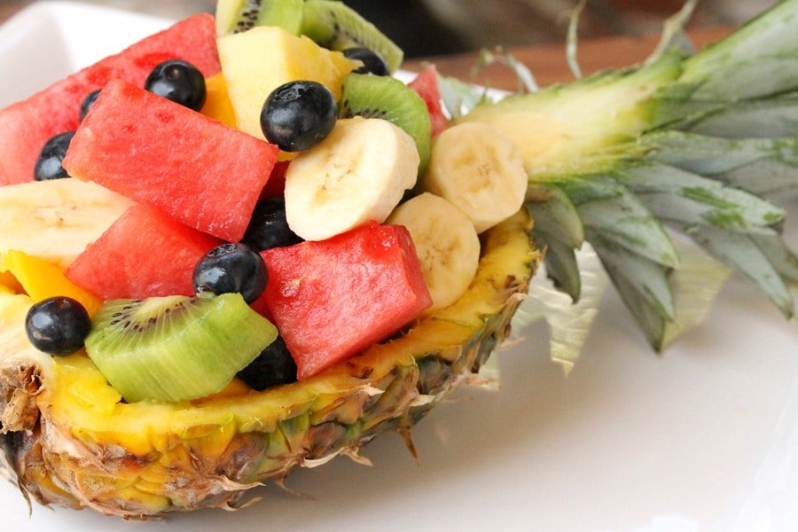 Pineapple Boat Fruit Salad Coupon Clipping Cook
