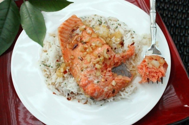 Grapefruit Marinade Salmon