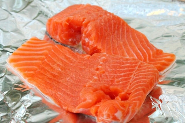 Salmon on Foil