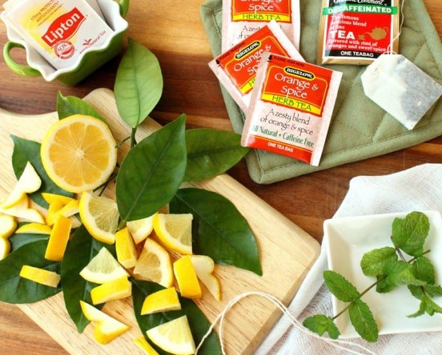 Lemon Mint Tea Ingredients