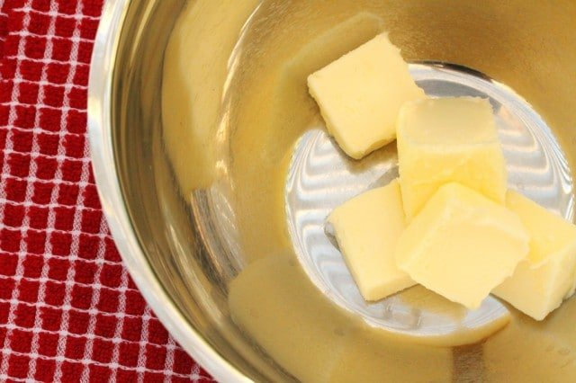Butter in Bowl