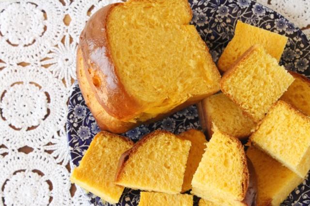 Cut Challah Bread