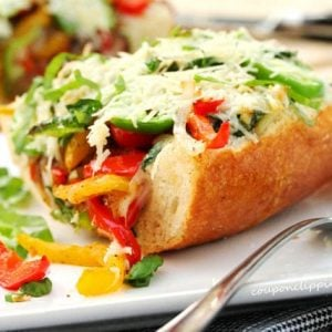 Roasted Vegetable Cheese Bread