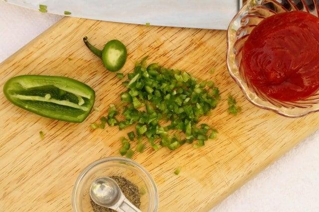 Jalapeno Ketchup Dipping Sauce
