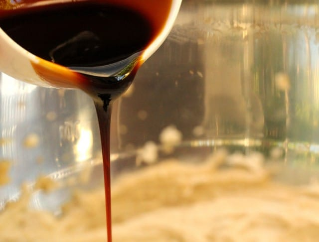 Pouring Molasses
