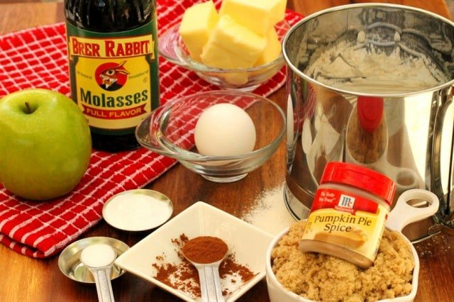 Molasses Cookie Ingredients