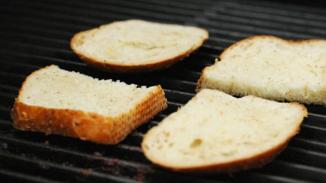 Bread on Grill