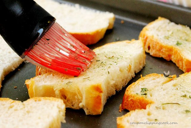 Spread Olive Oil on Bread