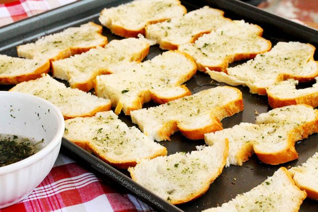 Garlic Toast on Pan