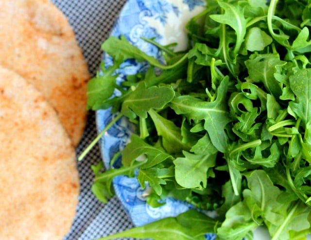 Arugula and Pitas