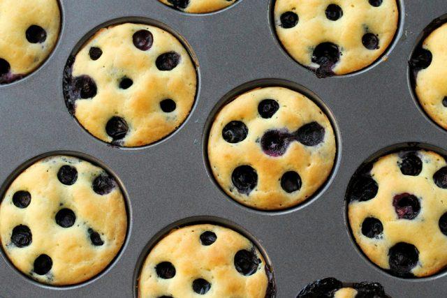 Blueberry Pancake Whoopie Pies in pan