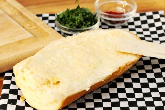 Cream Cheese Garlic Bread Ingredients