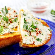 Cream Cheese Garlic Bread