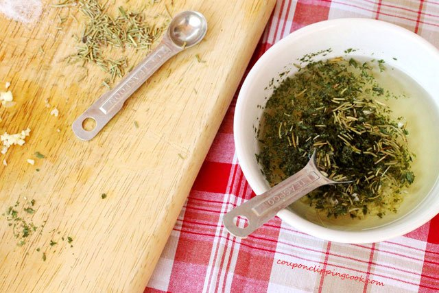 Olive Oil with Herbs Spices