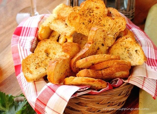 Garlic Toast in Basket
