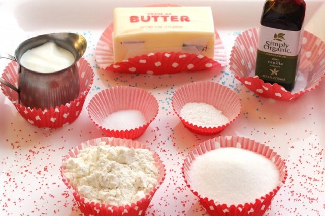 Cupcake Ingredients