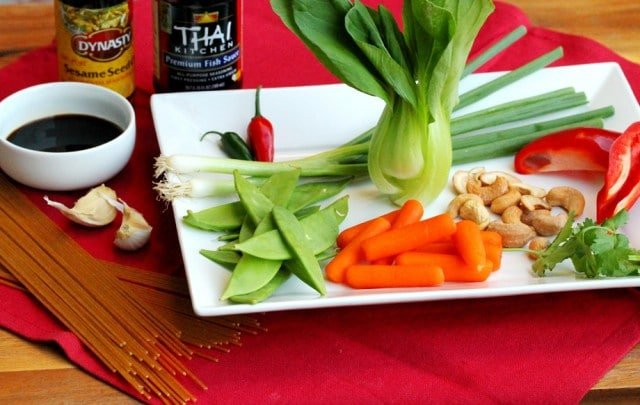 Chicken Stir Fry Ingredients