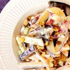 Apple Raisin Walnut Salad