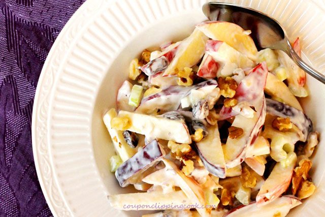Apple Raisin Walnut Salad
