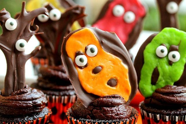 Halloween Chocolate Cupcake