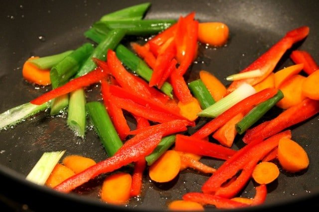 Cook Vegetables in Pan