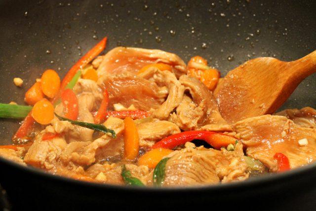 Cook Chicken in Pan