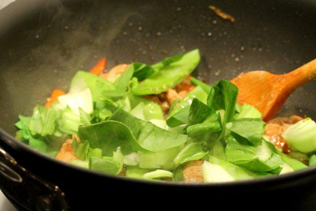 Cook Vegetables in Pan