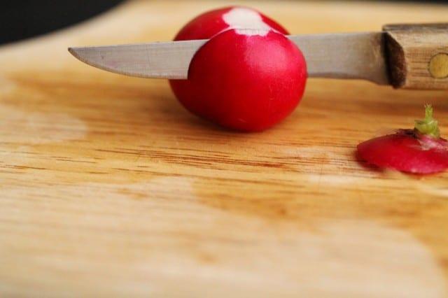 Cut Radish