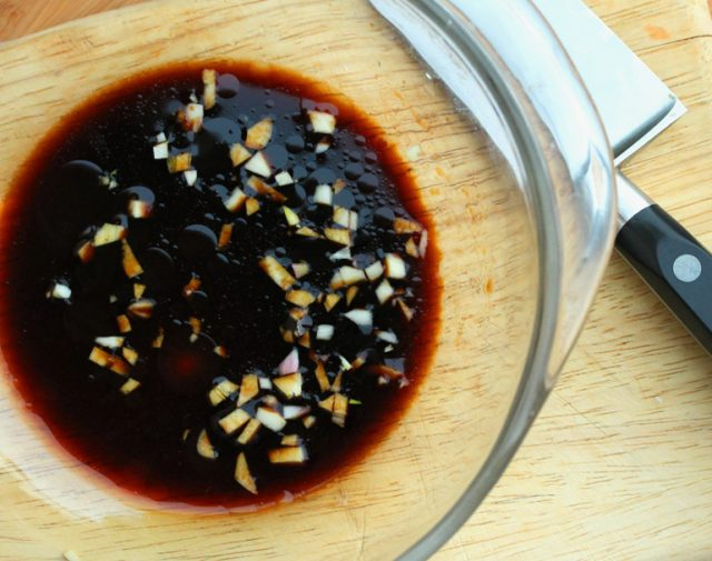 Marinade for Chicken in bowl