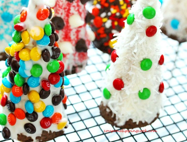 Candy Cone Christmas Trees