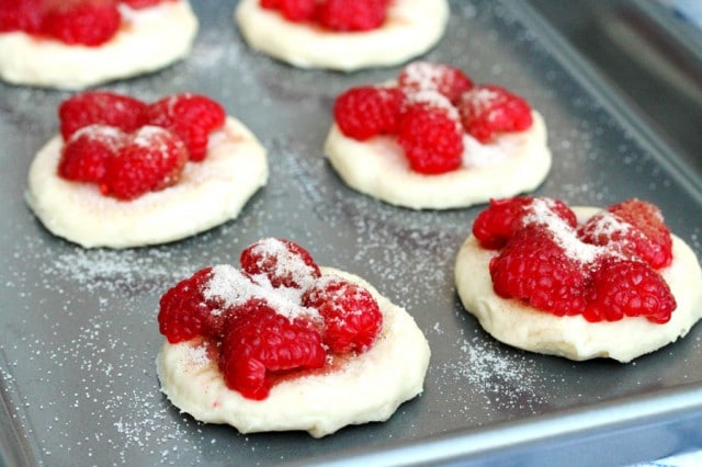 Sugar on Raspberries