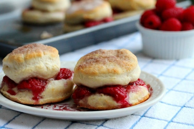 Biscuits on Plate